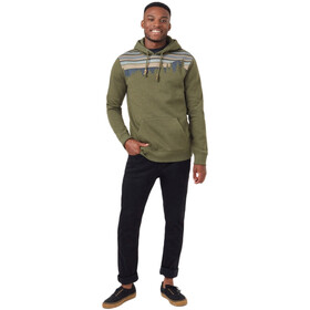 tentree Retro Juniper Classic Hoodie Men olive night green heather